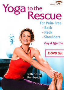 Yoga to the Rescue for Pain Free Back, Neck & Shoulders New DVD
