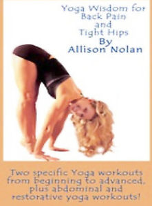 Yoga Wisdom For Back Pain & Tight Hips New DVD