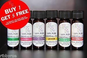 100% Pure Essential Oils 4ml *Create A Set* Essential Oils & Synergy Blends
