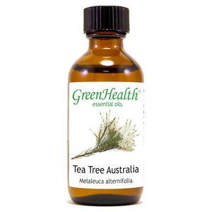 2 fl oz Tea Tree (Australia) Essential Oil (100% Pure & Natural) - GreenHealth