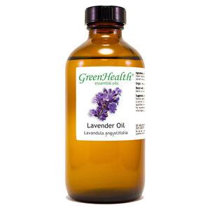 8 fl oz Lavender Essential Oil (100% Pure & Natural) Glass Bottle