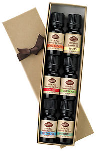 Blends Sampler Gift Set 6-10 ml 100% Pure Essential Oil - US FREE Shipping