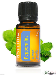 doTerra Peppermint Essential Oil 15ml - New and Sealed - Free shipping