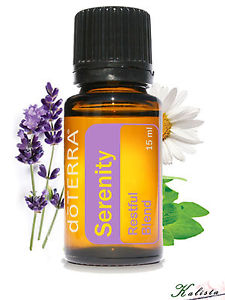 doTerra Serenity Essential Oil blend 15ml - New and Sealed - Free shipping