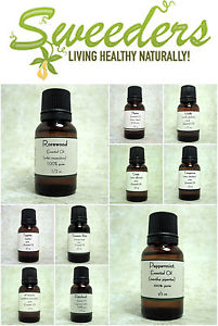 Pure Essential oils (1/2 oz)- From A-Y -Free US Shipping Buy 3 get 1 Free