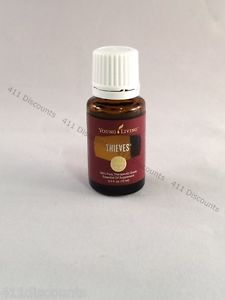 THIEVES - Young Living 15ml Essential Oil Therapeutic Grade Free Shipping