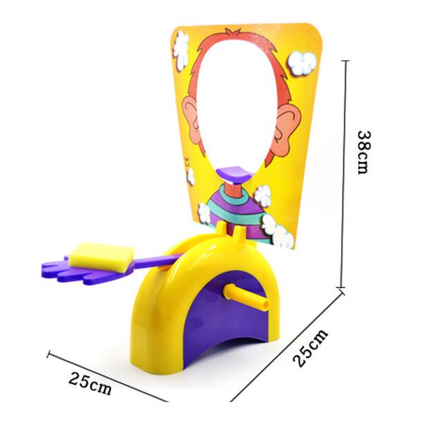 Fun Cute Shocker Gadgets Cream Pie In The Face Family Parent Child Prank Jokes Games Anti Stress Kids Toys Birthday Game Gifts