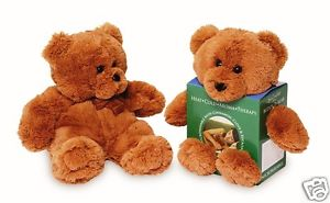 Spa Comforts Buddy D. Bear- Microwavable & Freezable Aromatherapy Teddy Bear