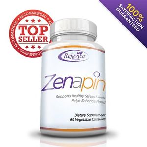 Zenapin: #1 All-Natural Anti-Anxiety Supplement for Anxiety, Stress Relief